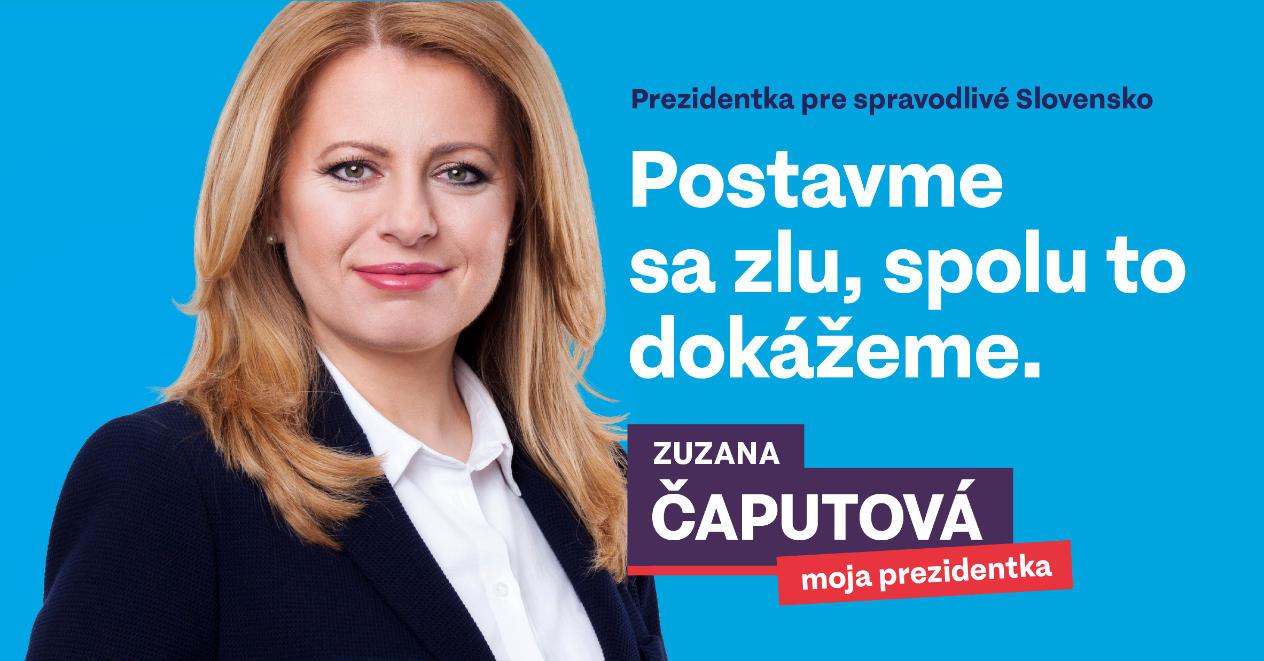 Bilboard Zuzana Čaputová